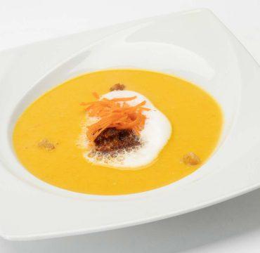 Karotten-Ingwer-Cremesüppchen